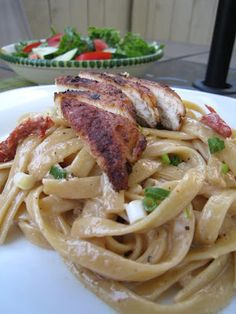 Salt & Turmeric: Cajun Chicken Pasta Recipe