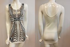 BAROQUE PRINTING DRESS/ MADE IN USA / ANDR