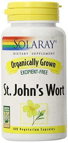 """Take control of your mood with Organic St. John's Wort 450 mg from Solaray.       Famous Words of Inspiration...""""Being busy does not always mean real work. The object of all work is production or accomplishment and to either of these ends there must be forethought,... more details at http://supplements.occupationalhealthandsafetyprofessionals.com/herbal-supplements/st-johns-wort/product-review-for-solaray-organic-st-johns-wort-450mg-100-count/"""