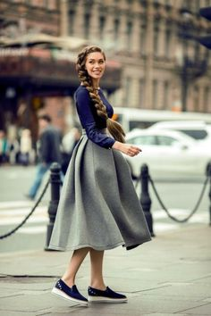 Classy Summer Work Outfits to be Fashionista in your Office - Experimente Kinder Curvy Outfits, Mode Outfits, Skirt Outfits, Fashion Outfits, Fashion Fashion, Curvy Fashion, Fashion Styles, Street Fashion, Fashion News