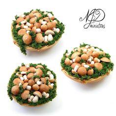 Porcini Basket - NJD Miniatures by ~NJD-Miniatures on deviantART