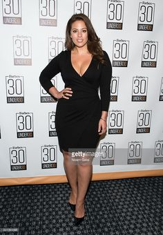Model Ashley Graham attends the Forbes 30 Under 30 cocktail reception at Forbes Building on January 28, 2016 in New York City.