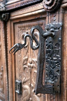 Door Knocker in Italy