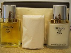 Tiffany Gift Set for Men 1.7 Oz Cologne by TIFFANY. $175.00. Tiffany Gift Set for Men 1.7 Oz Cologne. THIS CONTENT 1.7 OZ COLOGNE SPRAY, SOAP 3.52 OZ, AFTER SHAVE BALM 1.7 OZ