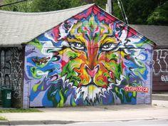 Grafiti or art?  I said ART!