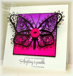 Bridget's Paper Blessings: Butterfly Hope