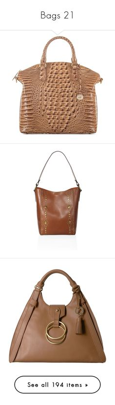"""""""Bags 21"""" by middletondonna ❤ liked on Polyvore featuring bags, handbags, tote bags, elephant, zip top tote, elephant tote, michael kors purses, brown satchel, michael kors tote and purses"""