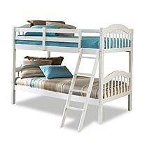 Stork Craft Long Horn Bunk Bed - White