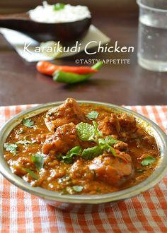 Tasty Appetite: How to make Chettinad Pepper Chicken Masala / Karaikudi Chicken / Restaurant Style Recipe: