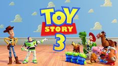 Toy Story 3 Game Animation Movies * Sheriff Woody - Buzz Lightyear - Ful...