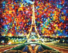 I would like to present my hand painted oil on canvas painting PARIS OF MY DREAMS - oil painting. I made this piece with the same amount of soul and emo. PARIS OF MY DREAMS by Leonid Afremov Torre Eiffel Paris, Tour Eiffel, Leonid Afremov Paintings, Oil Paintings, Original Paintings, Oil Painting On Canvas, Paris Painting, Painting Art, Surrealism Painting