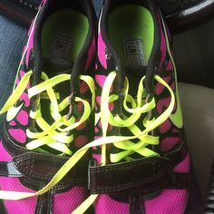 Nike Zoom Rival S Women's Size 7 Nike Zoom Rival S (Sprint) W7 - USA 38-Euro Like New Only Worn Once. Purple and Bright Yellow Nike Shoes Athletic Shoes