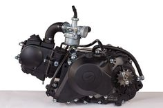 Engine Kit Includes: • 49cc 4 Stroke Engine with 2 Stage Fully Automatic Transmission • Electric Start • 13 Tooth Engine Sprocket • Sprocket Side Cover • Carburator • Intake…