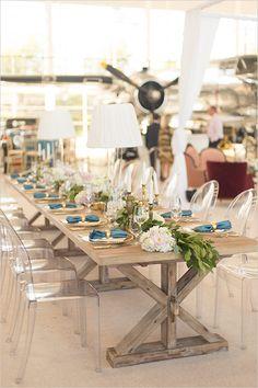 reception table decor #receptiontable @weddingchicks