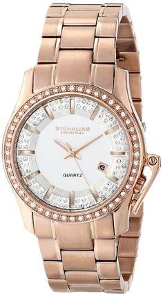 Gold watches women Stuhrling Original