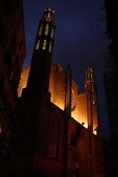 Santa Maria del Mar  Barcelona  Catalonia