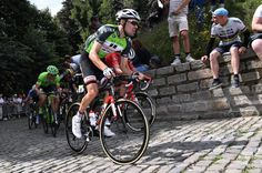 Race leader Tom Dumoulin on the actual final stage of the BinckBank Tour
