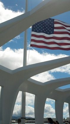 USS Arizona Memorial in Pearl Harbor, Hawaii, World War II Valor in the Pacific National Monument