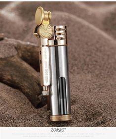 Buy Zorro metal brass oil lighter Transparent oil tank Long time use Kerosene cigarette lighter Best Hobbies For Men, Fun Hobbies, Cool Lighters, Cigar Lighters, Cargo Trailer Camper Conversion, Oil Light, Retro Lighting, Smoking Accessories, Pure Copper