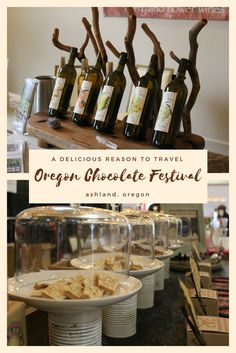 Running three-days in March, Ashland, Oregon draws thousands of chocolate lovers to the annual Oregon Chocolate Festival.