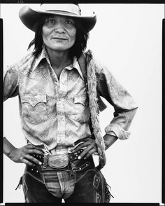 Richard Avedon Harrison Tsosie, cowboy, Window Rock, Arizona, June 13, 1979