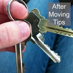 After Moving Tips