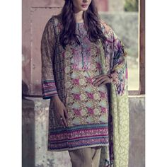 Digital Printed Twill Linen Salwar Kameez Contact: (702) 751-3523  Email…