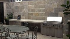 French Limestone Patio, French, Kitchen, Outdoor, Home Decor, Outdoors, Cooking, Decoration Home, French People