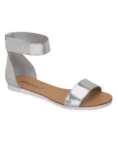 Silver Joy Sandal