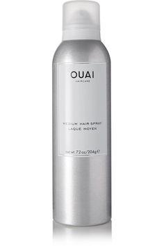 OUAI HAIRCARE MEDIUM HAIR SPRAY, 204G. #ouaihaircare #