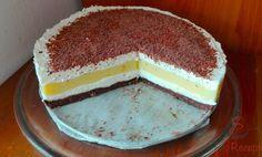 SUROVINY Vrstva I .: 250 g BEBE sušenky 50 g máslo 50 g moučkový cukr trošku mléko Vrstva II .: 200 Cream Cake, Popular Recipes, Vanilla Cake, Tiramisu, Cheesecake, Lemon, Food And Drink, Baking, Ethnic Recipes