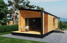 Mobilní domy - Zprostředkování dovozu dřevěných chat