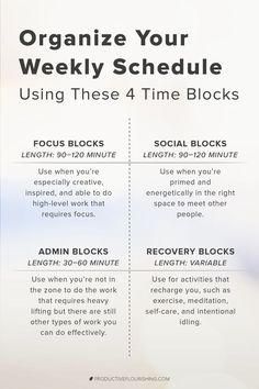Time Blocking Template: 8 Steps to Plan Your Calendar Like a Boss! Time Blocking Template: 8 Steps to Plan Your Calendar Like a Boss!,Organization Learn how to time block and focus so you can.
