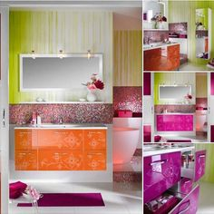 So Sweet - Girly Bathroom Furniture Design