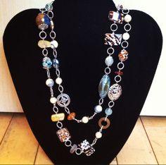 #desertheart necklace www.glassgrowersgallery.com