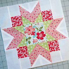 Beautiful quilt block