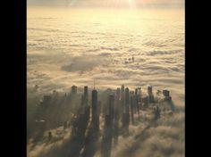 New-York dans le brouillard