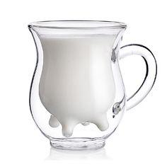 EUR € 11.03 - Leite Teat Estilo de camada dupla de vidro 200ml de leite, Frete Grátis em Todos os Gadgets!