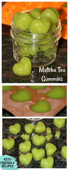 Matcha Tea Gummies Recipe Keto friendly! via @isavea2z