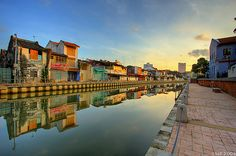 Malacca River - can't wait for my holiday!