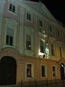 Embaixada do Brasil em Praga.