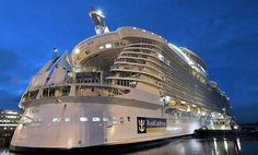 Oasis Of The Seas (Worlds biggest cruise ship) I can safely admit this..as I spent a week in the Owner's Suite 7 day cruise eastern caribbean 2011
