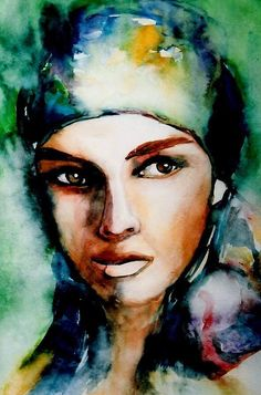 Watercolor painting by Mary K. Wood