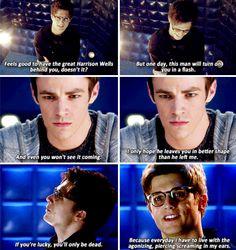 The Flash - Hartley Rathaway & Barry Allen  #1x11 #Season1
