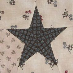 1865 passion sampler - bloc 63 / 90 - Red White and Blue Quilt