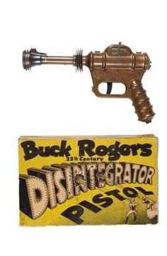Vintage Buck Rogers Disintegrator Pistol