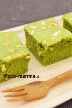 ナッツとホワイトチョコの抹茶ブラウニー by mocomanma [クックパッド] 簡単おいしいみんなのレシピが238万品