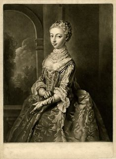 From a set of four plates depicting a young woman at different times of the day; three-quarter length standing to left beside window and pulling on glove, eyes to front; proof before letters.  Mezzotint