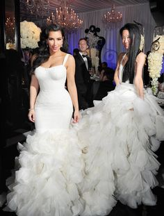 Your Wedding: Kim Kardashian wore three Vera Wang wedding gowns on her wedding day