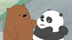 we bare bears Amigos. We Bare Bears Wallpapers, Panda Wallpapers, Cute Cartoon Wallpapers, Cute Wallpaper Backgrounds, Pardo Panda Y Polar, 3 Bears, Bear Wallpaper, Cute Emoji, Bear Pictures